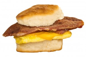 Bryants Breakfast, Country Ham Biscuit