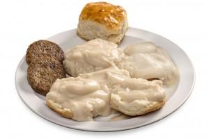 Bryants Breakfast, Gravy & Biscuits, Memphis