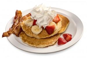 Bryant's Breakfast, Strawberry Pancakes, Memphis