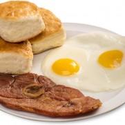 Bryant's Breakfast Ham & Eggs